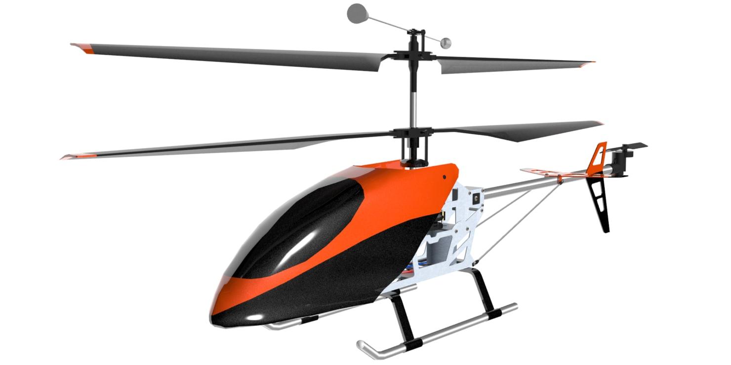 gyro 601 3d max