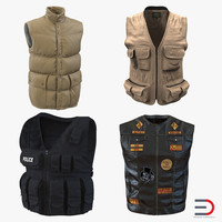 3d vests design swat model