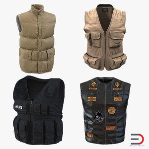 3d vests design swat model