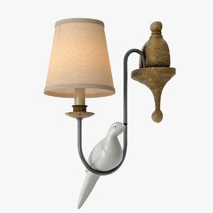 lamps light 3d model
