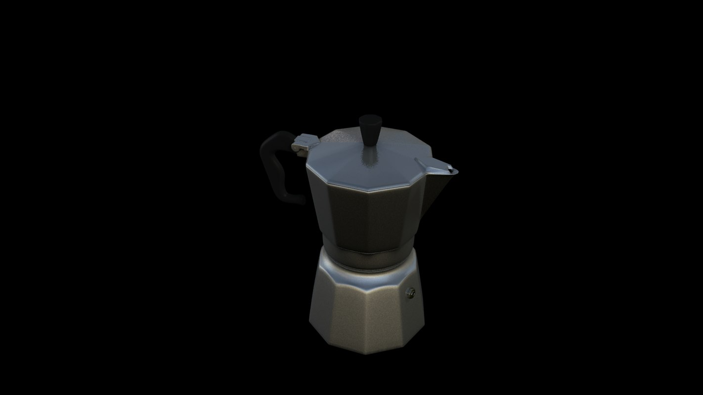 moka italian coffee dxf