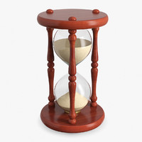 3d model sand clock