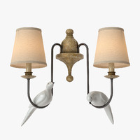 3d model lamps light