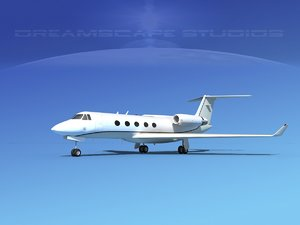 3d gulfstream g-v business
