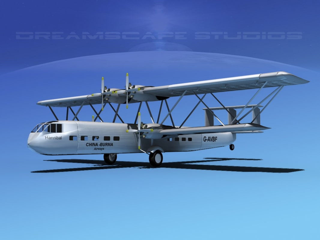 3d hp-42 handley page hannibal
