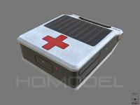 aid case pbr sci-fi 3d model