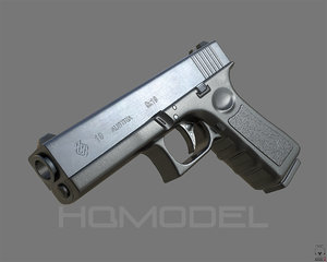 glock 19 pbr generic fbx