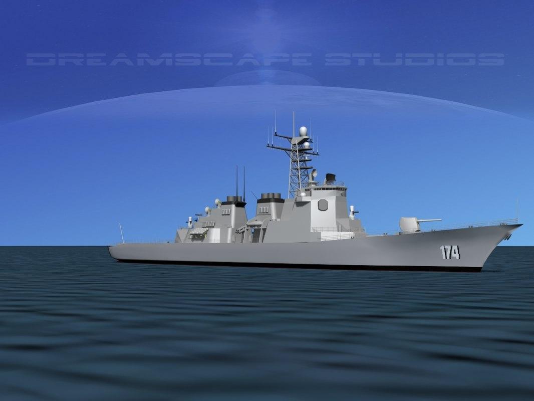 destroyers kongo max