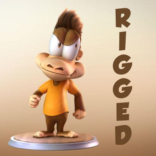 monkey cartoon character ma