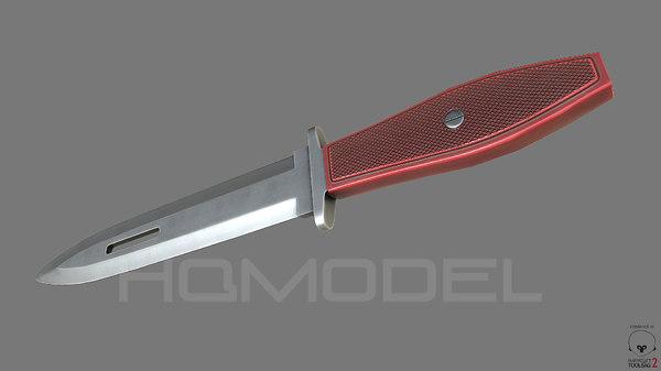 x throwing knife pbr