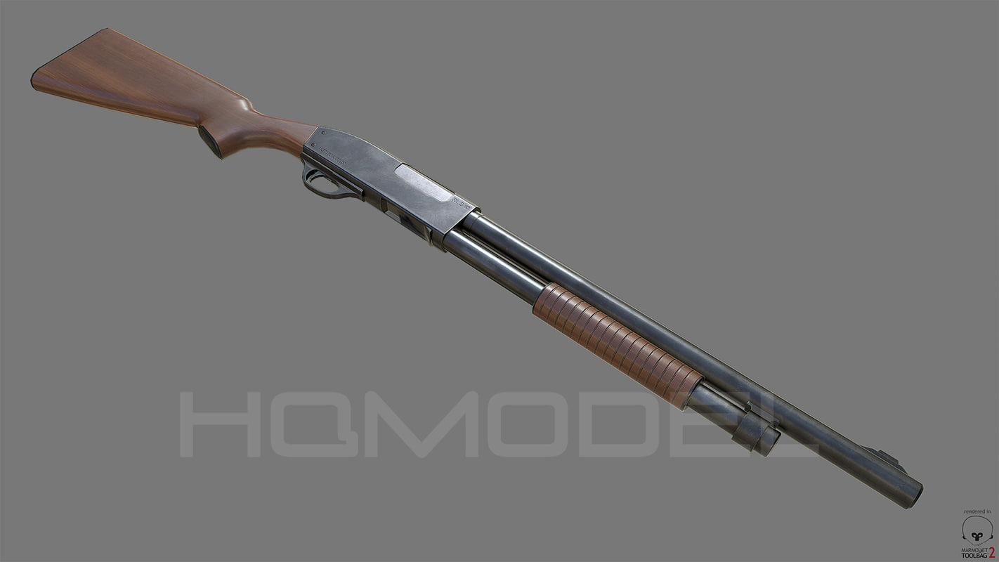 shotgun pumpgun pbr fbx