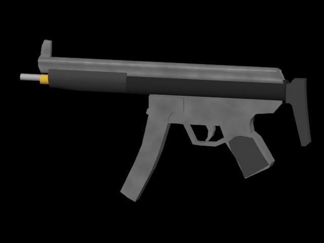 gun sub machinegun max