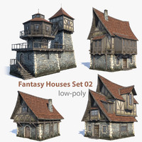 Fantasy Houses Set 02