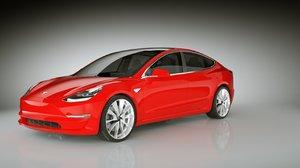 2013 tesla s highpoly 3d model