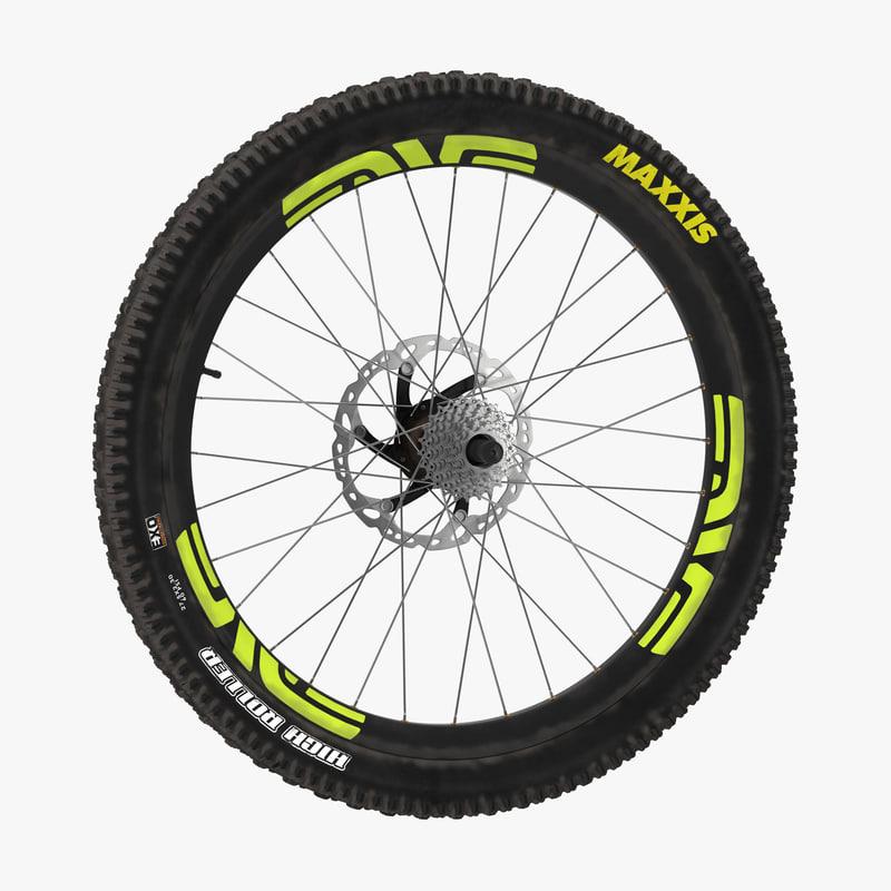 3d bicycle wheel