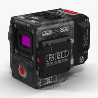 Red Weapon Dragon 6k Body 3D Model