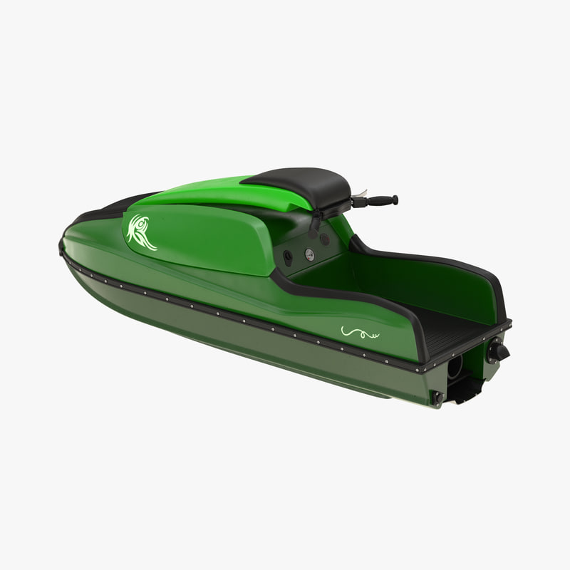 sport water scooter generic 3d max