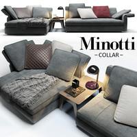sofa minotti collar max