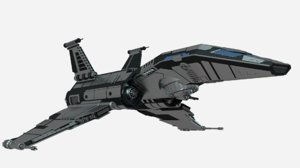 science fiction space cruizer blend