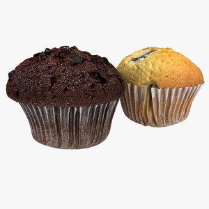 muffins 3d lwo