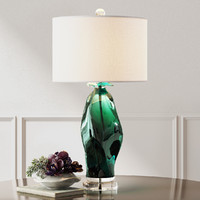 uttermost table lamp 3d model