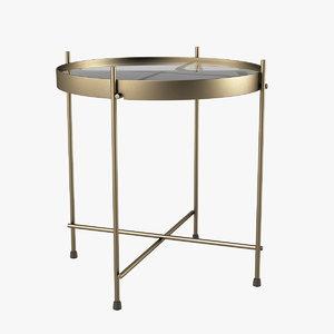sidetable table 3d model