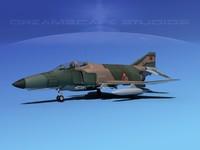 3d max mcdonnell douglas f-4 phantom