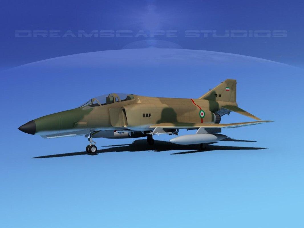 mcdonnell douglas f-4 phantom 3d 3ds