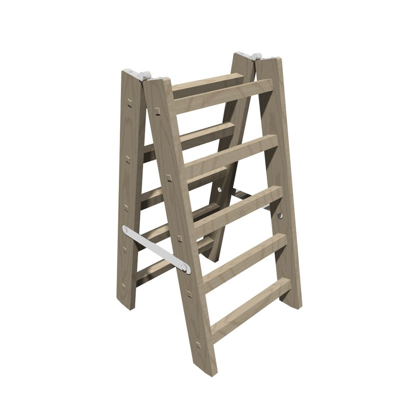 3d model blender stepladder