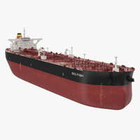 tanker ship 3d 3ds