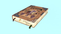 3d model enchiridion adventure time
