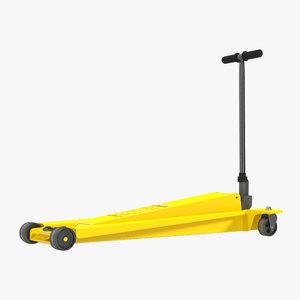 max floor jack yellow