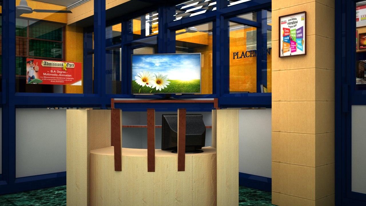 3d model training centre