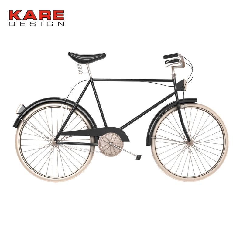 3d wall city bike kare