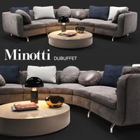 sofa minotti dubuffet max