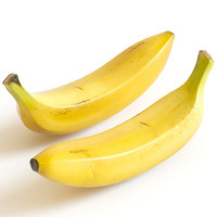 banana fruits 3d model
