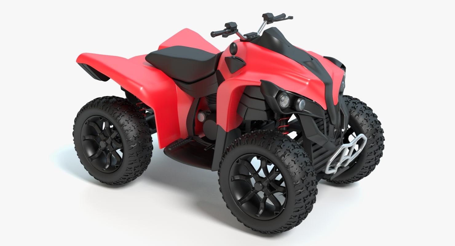 3d 4 wheeler
