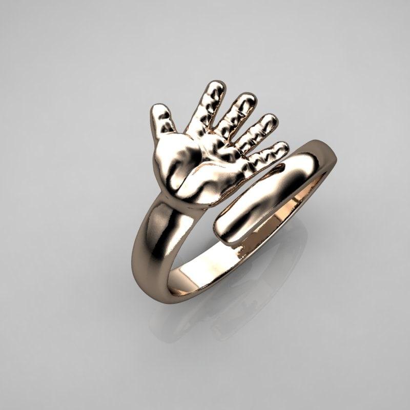 3d model print ring