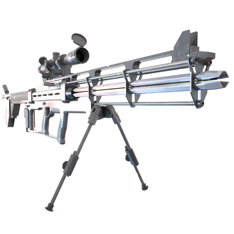 max sci fi rifle