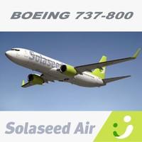 boeing solaseed air 3d max
