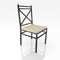 3d classic chair model