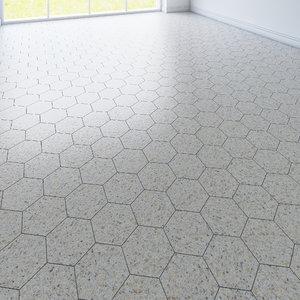 free max model hexagon tile 3