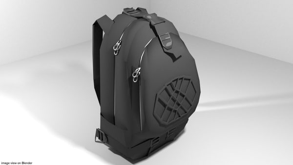 backpack 3d 3ds