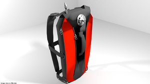 backpack hydration 3d 3ds