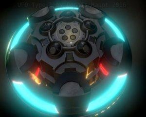 ufo type 1 ready obj