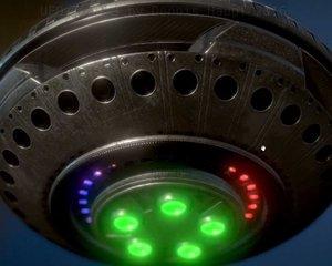 ufo type 3 ready 3d model