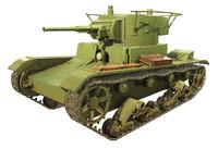 Soviet Tank T-26
