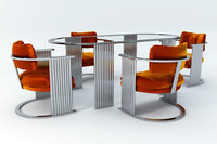 Deco Inspired Dining Set