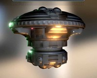 3d model ufo type 6 ready