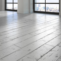 parquet - white painted 3d max